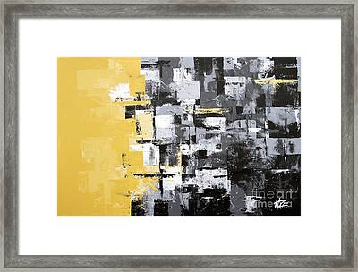 Rumble Framed Print