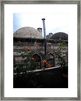 Rustem Pasha Mosque Framed Print by Jacqueline M Lewis