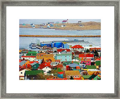 Saint Pierre Et Miquelon Framed Print