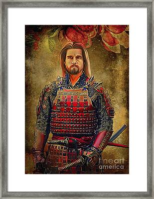 Samurai Framed Print by Andrzej Szczerski
