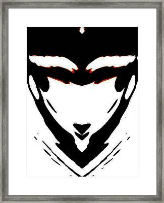 Sassy Frass Framed Print