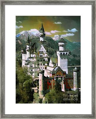 Schloss Neuschwanstein Framed Print by Andrzej Szczerski