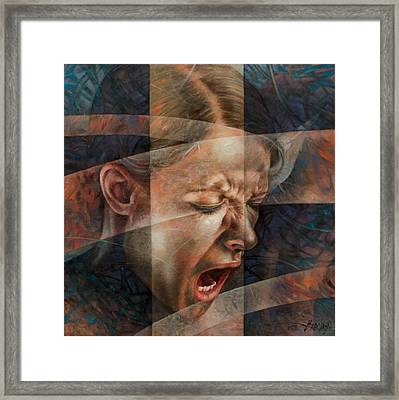 Scream4 Framed Print by Arthur Braginsky