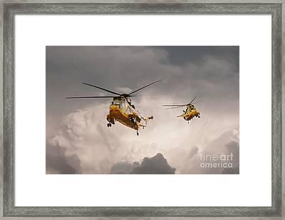 Sea Kings Framed Print by J Biggadike