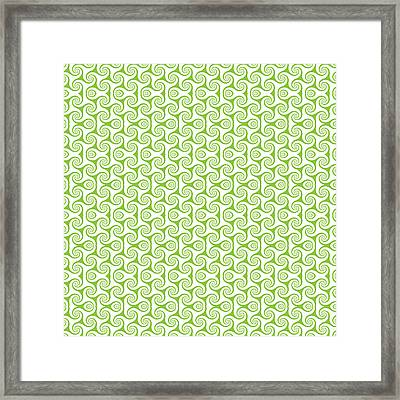 Seamless Floral Pattern  Framed Print by IB Photo