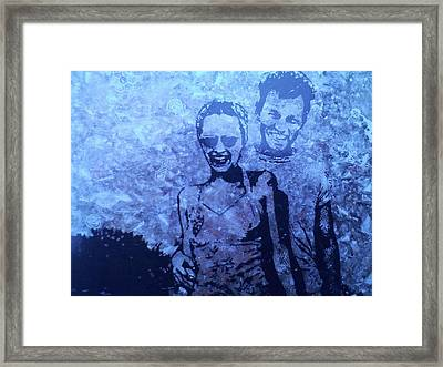 Selfie Framed Print by Lew Griffin
