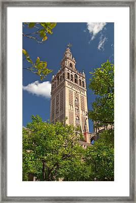 Seville Cathedral Belltower Framed Print by Viacheslav Savitskiy