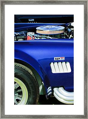 Shelby Cobra 427 Engine Framed Print