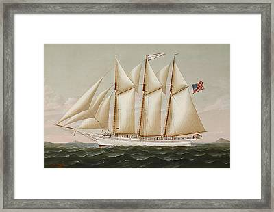 Ship Framed Print by Charles Sidney Raleigh