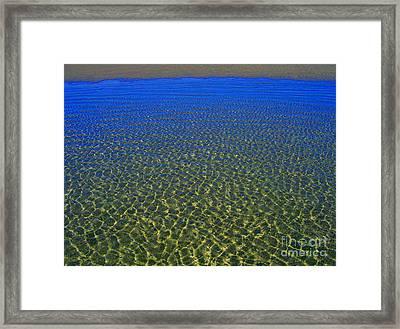 Shore Framed Print