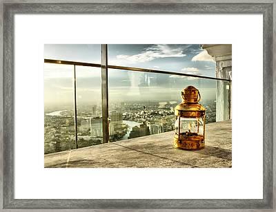 @ Sky Bar Sirocco Framed Print by Suradej Chuephanich