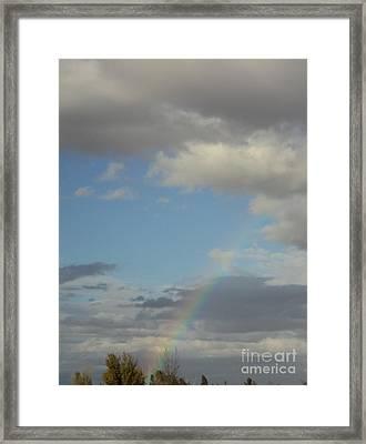 Skys The Limit Framed Print by Carla Carson