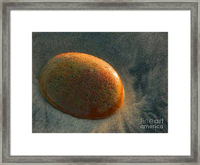 Smooth Stone Framed Print
