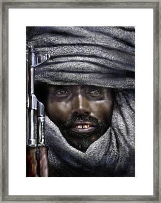 Somalia - How I Live  Framed Print