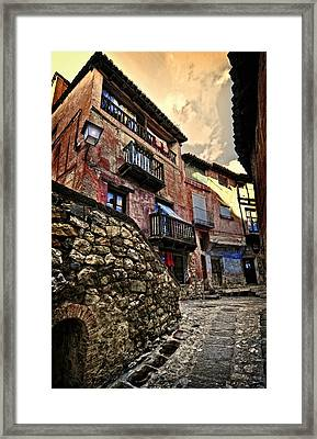 Spanish Architecture Design1 Framed Print
