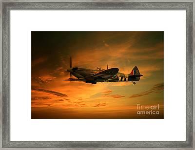 Spitfire Glory Framed Print