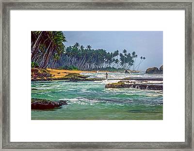 Sri Lanka Framed Print by Steve Harrington