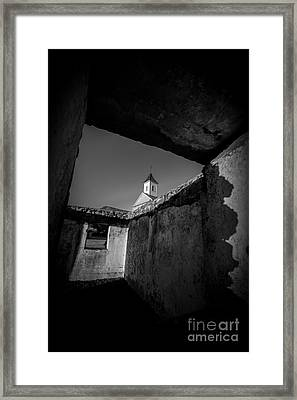 St. Joseph Church Maui Hawaii Framed Print by Edward Fielding