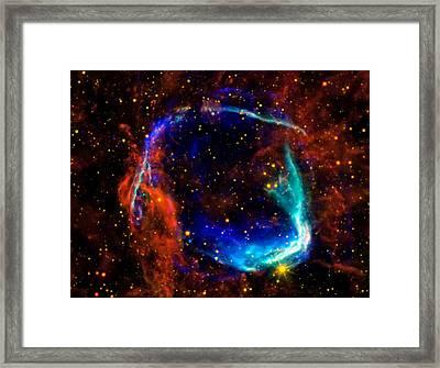Supernova Framed Print by Jennifer Rondinelli Reilly - Fine Art Photography