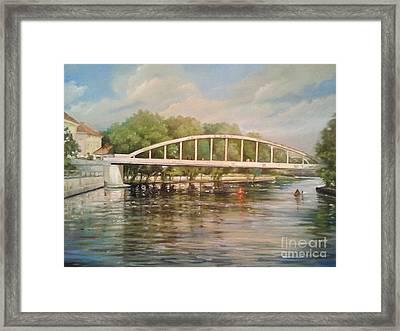 Tartu Arch Bridge Framed Print