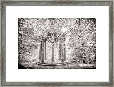 Temple Of Fame Fountains Abbey Framed Print by Janet Burdon