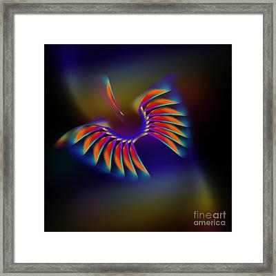 Terrestrial Flight Framed Print