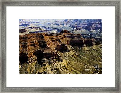 The Grand Canyon Framed Print by Thomas R Fletcher