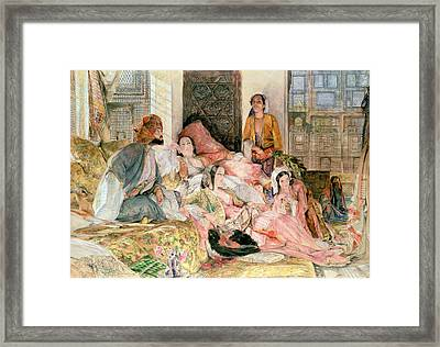 The Harem Framed Print