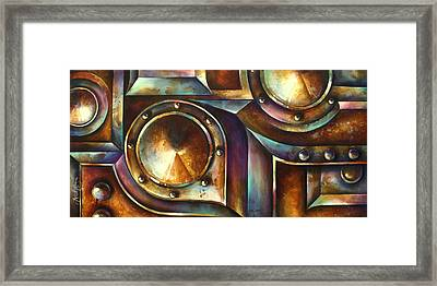 ' The Keep ' Framed Print by Michael Lang