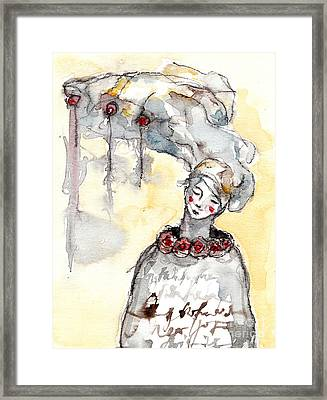 ' The Listeners - No 1 '  Framed Print by Milliande Demetriou