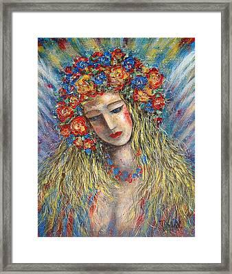 The Loving Angel Framed Print