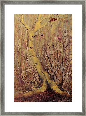 The  Loving  Tree Framed Print by Beth Arroyo