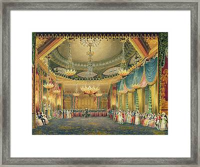 The Music Room Framed Print by English School