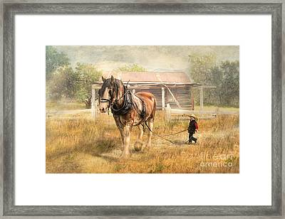 The Next Generation Framed Print by Trudi Simmonds
