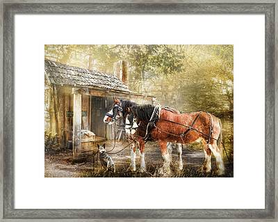 The Replacements Framed Print by Trudi Simmonds