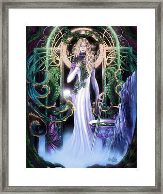 The Return Of Ithwenor 2 Framed Print