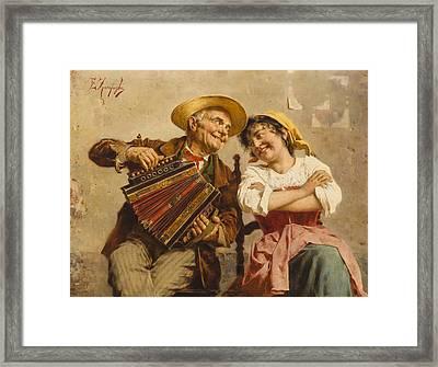 The Serenade Framed Print