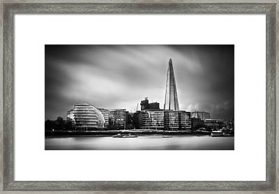 The Shard And City Hall London Framed Print