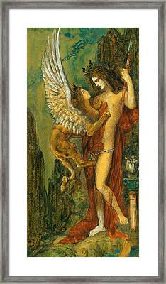 The Sphinx Framed Print by Gustave Moreau