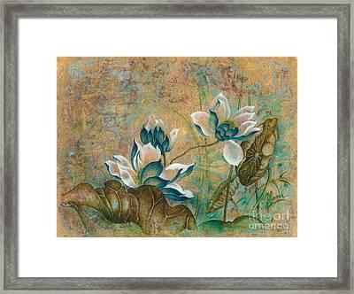 The Turquoise Incarnation Framed Print