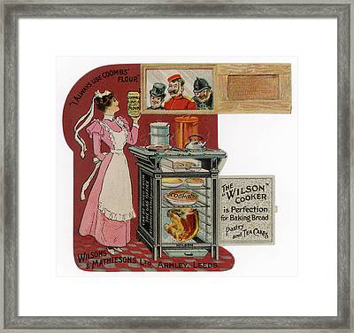 The Wilson Cooker - Perfection Framed Print