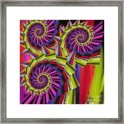 Thorns Framed Print by Soumya Bouchachi