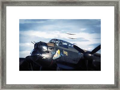 Three Lancasters Framed Print