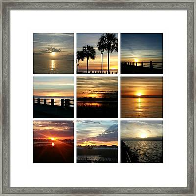 Totally Beautiful Charleston South Carolina Framed Print