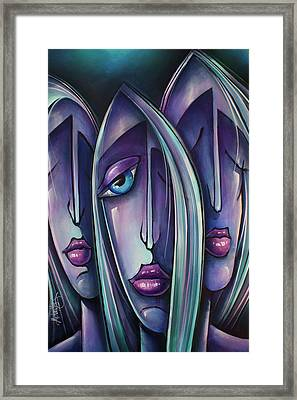 ' Trio ' Framed Print by Michael Lang