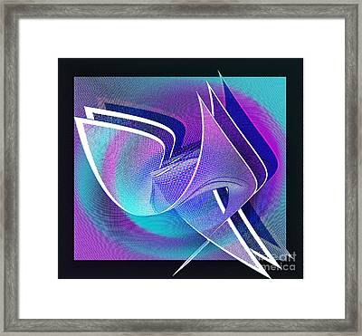 Twisted Linen Framed Print