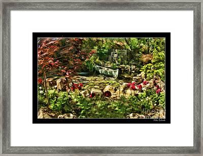 Uncle Toms Cabin  Framed Print by Blake Richards