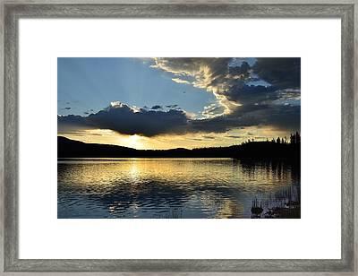 Unnamed Sunrise  I Framed Print by Rich Rauenzahn