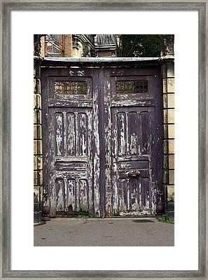 Urban Gateway Framed Print