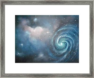 Vast Cosmos  Framed Print by Ricky Haug